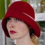 Roter Damenhut von Kopfloos